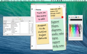 Good Writer - Take Notes, Sketch, To-do & Word Processor スクリーンショット1