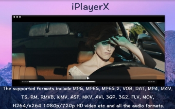 iPlayerX - A fully functional media player able to play almost every kind of media file. スクリーンショット2