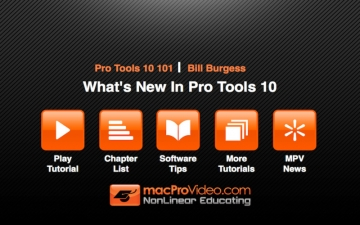 Course For Pro Tools 10 100 - What's New In Pro Tools 10 スクリーンショット2