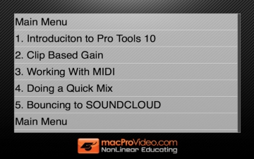 Course For Pro Tools 10 100 - What's New In Pro Tools 10 スクリーンショット3