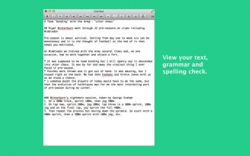 Marking Text - Syntax, Write & Edit スクリーンショット1