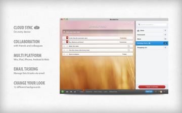 Wunderlist: To-Do List & Tasks スクリーンショット1