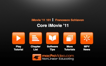 Course For iMovie '11 101 - Core iMovie '11 スクリーンショット2