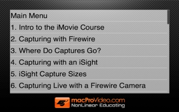 Course For iMovie '11 101 - Core iMovie '11 スクリーンショット3