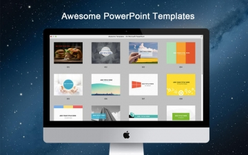 Awesome Templates - for Microsoft PowerPoint スクリーンショット1