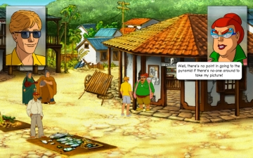 Broken Sword - The Smoking Mirror: Remastered スクリーンショット1