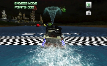 Boat Racing 3D - Top Water Craft Speed Game スクリーンショット1