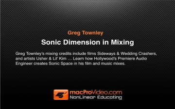 Sonic Dimension in Mixing by Greg Townley スクリーンショット1