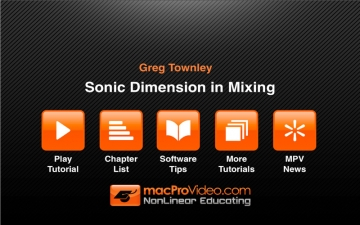 Sonic Dimension in Mixing by Greg Townley スクリーンショット2