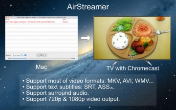 AirStreamer - for Google Chromecast スクリーンショット2