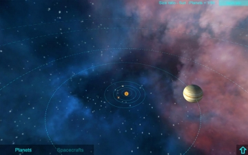 Explain 3D: Explore the solar system スクリーンショット1