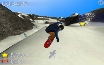 Big Mountain Snowboarding スクリーンショット1