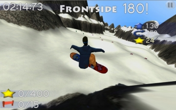 Big Mountain Snowboarding スクリーンショット2