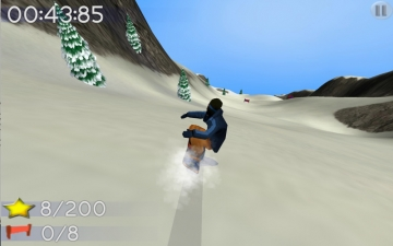 Big Mountain Snowboarding スクリーンショット3