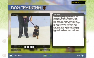 Dog Training by Selectsoft スクリーンショット1