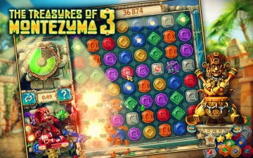 The Treasures of Montezuma 3 (Free) スクリーンショット1